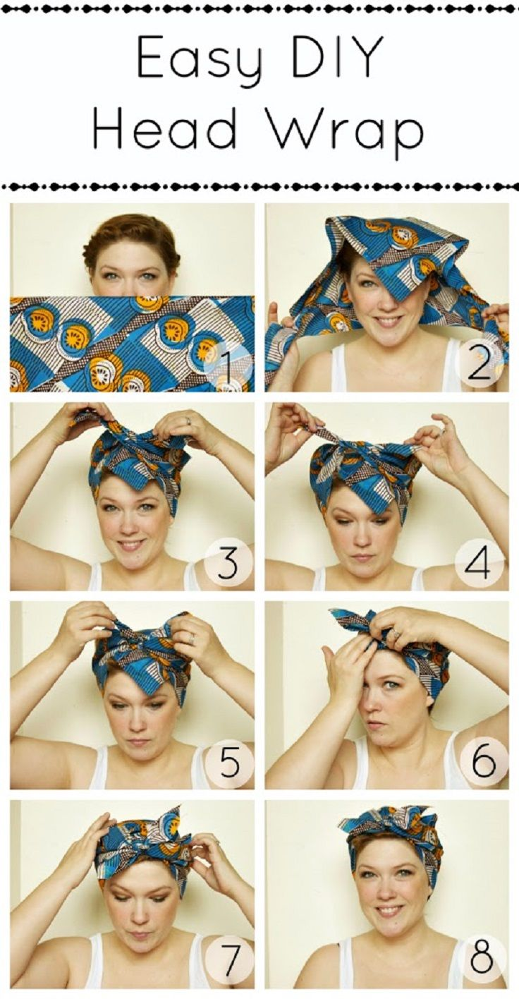 Bandana Hairstyles - Top 10 Simple Ways [Tutorials #easyhairstyles