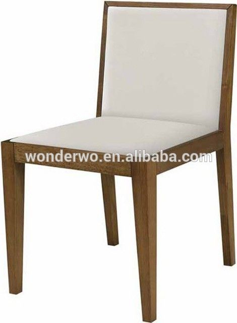 Charmant Leather Cushion Wood Dining Chair Restaurant Chair , Find Complete Details  About Leather Cushion Wood Dining