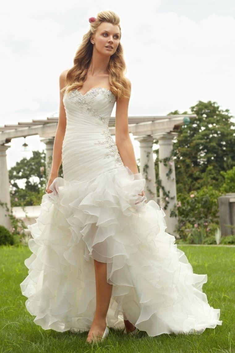 wedding dresses trumpetmermaid sweetheart sweepbrush train