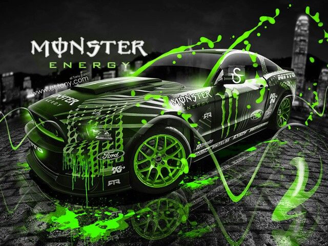 Monster Energy Lamborghini Aventador Fantasy Plastic Car 2013 « El ... |  Monster |