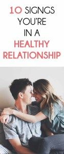 10 Signs You're In A Healthy Relationship  #beautytips  #fitness