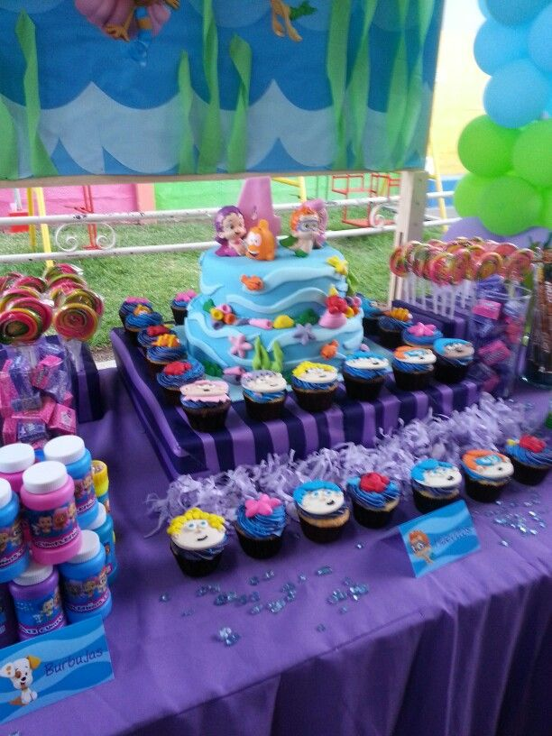 Bubble guppies cake   FIESTAS INFANTILES   Pinterest   Cumpleaños ...