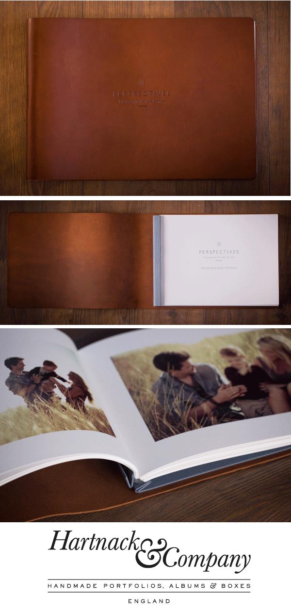 Portfolio Books | Leather Portfolio Binders, Albums