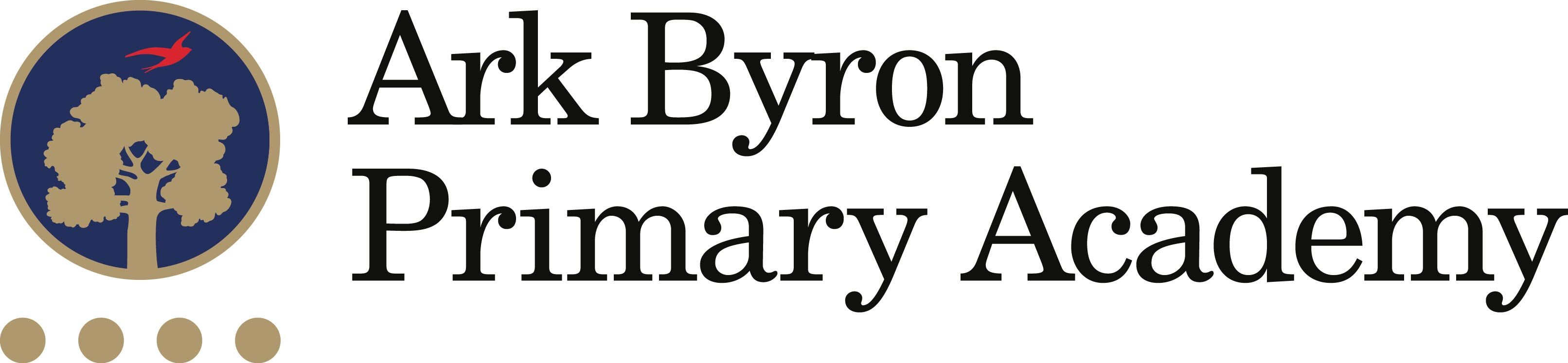Ark Byron Primary Academy logo design. Using existing school colour scheme.