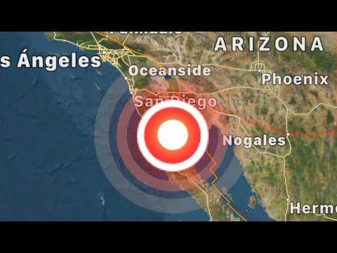 Resultado de imagen para temblo en California