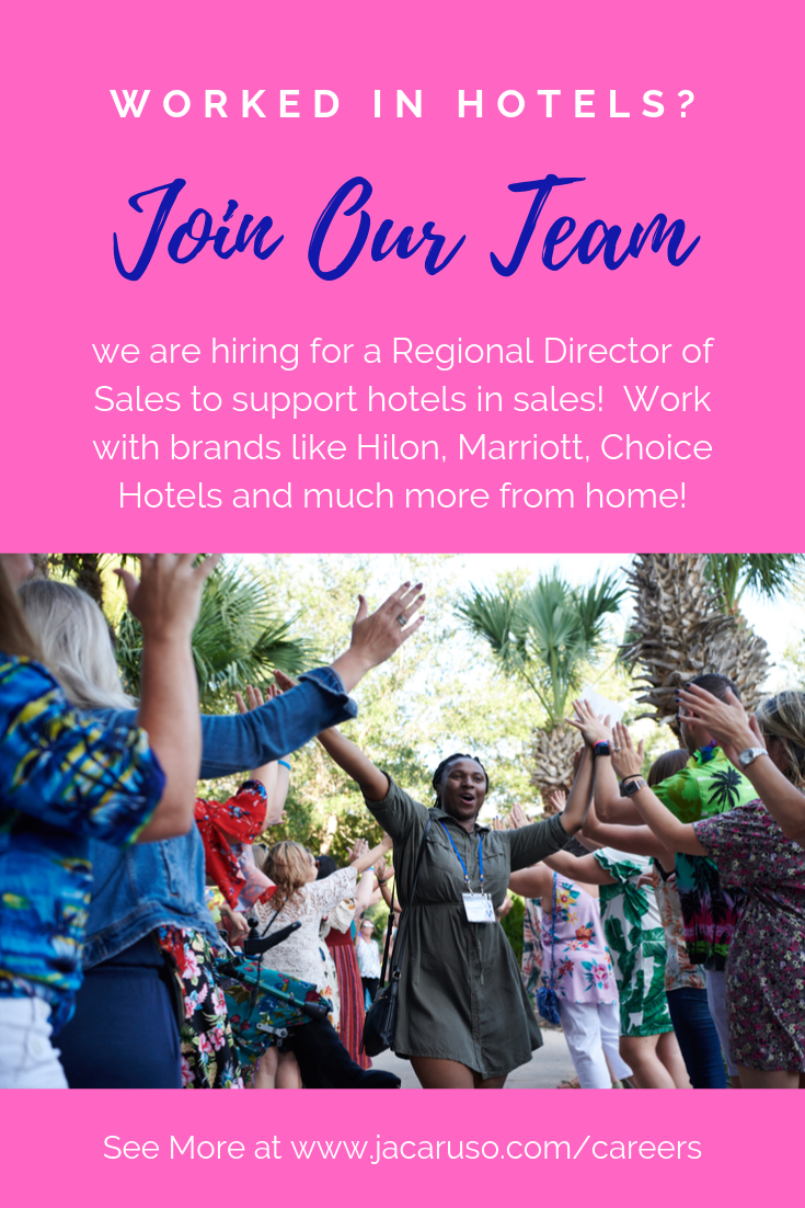 Do You Have Hotel Experience And Would Like To Work From Home Join The Team Of Regional Directors Of Sales At Jacaruso En Hotel Sales Leading Hotels Job Seach