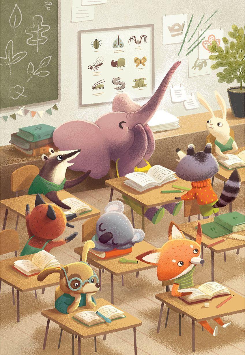 Children Book Illustrations Breathtaking Examples For Inspiration Animal Illustration Kids Book Illustration Art Picture Books Illustration