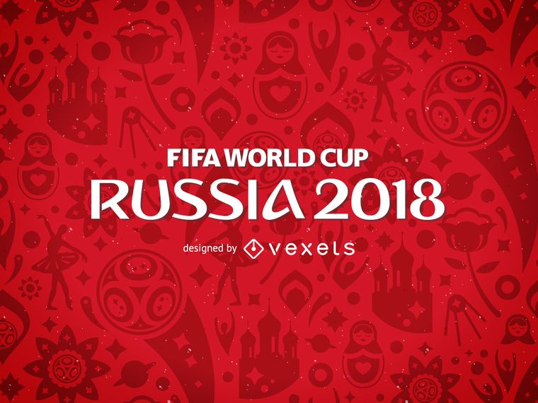 Russia 2018 Fifa World Cup Pattern World Cup World Cup Logo Fifa World Cup