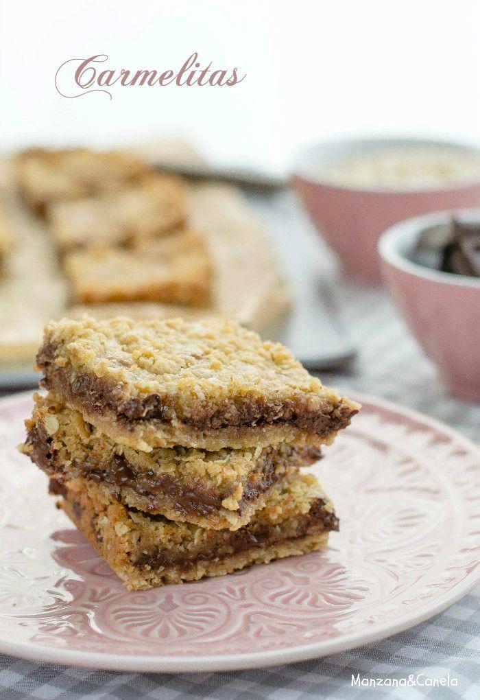 (galletas de avena, chocolate y toffe)