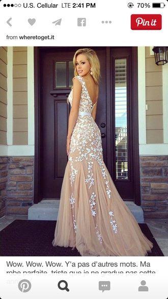Tan Prom Dresses
