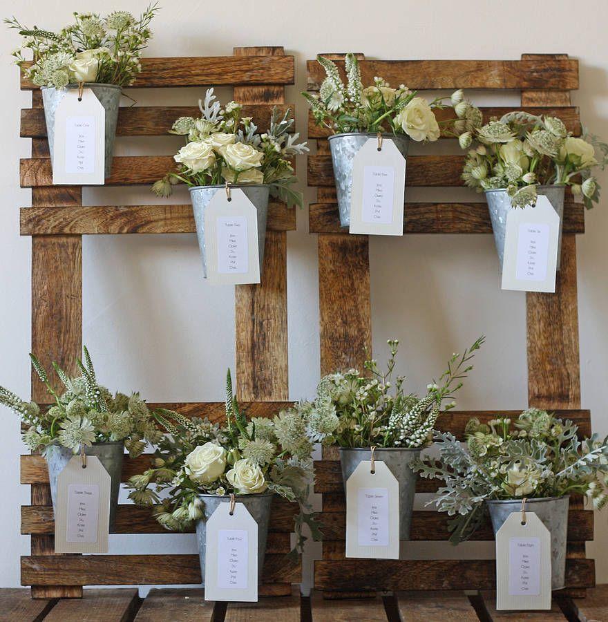 Wedding tables plan