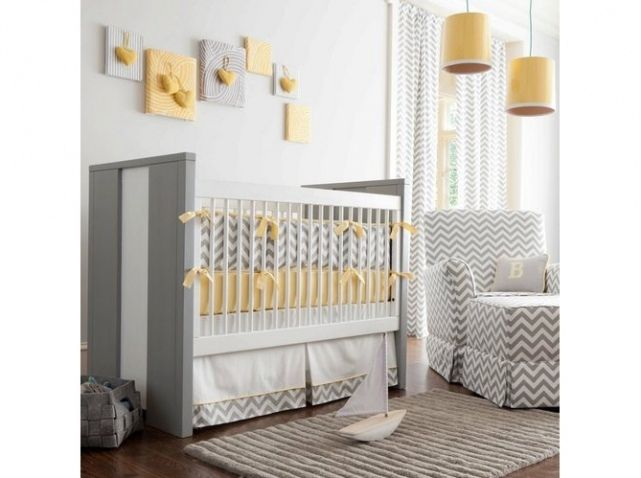 1000 images about dco chambre bebe on pinterest - Decoration Chambre Bebe Jaune