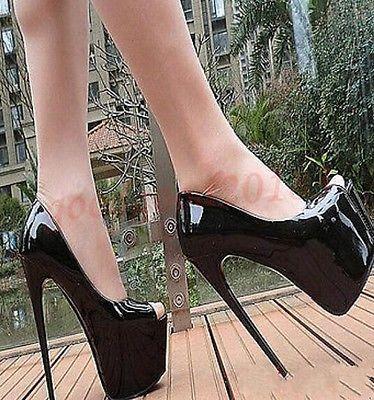 Fashion WoHommes  Stiletto Platform Sexy high Sexy Platform Super High Heel Pul b3f1bc