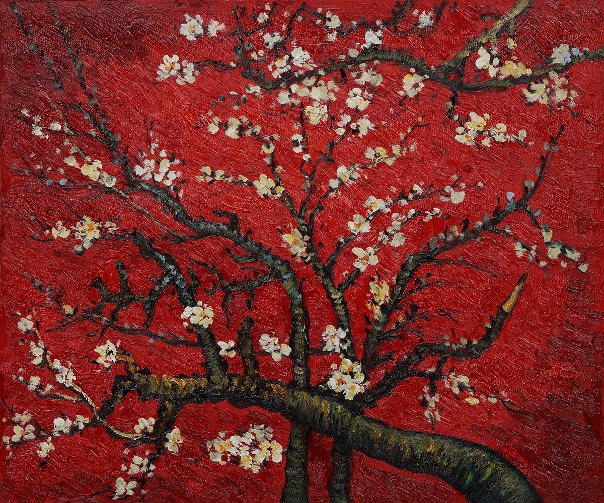 Vincent Van Gogh Branches Of An Almond Tree Interpretation