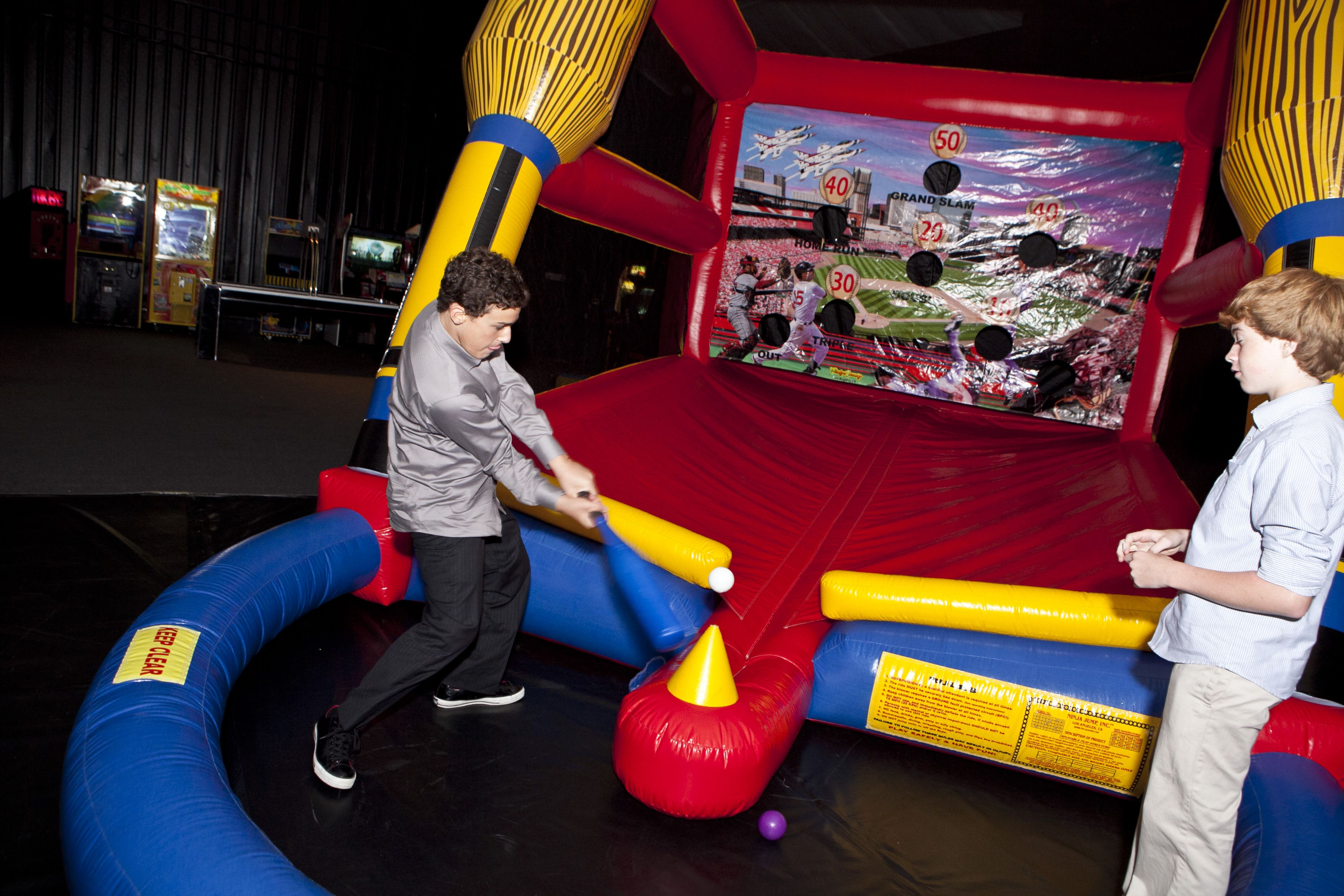 Batter Up Inflatable Baseball The Event Of A Lifetime, Inc.