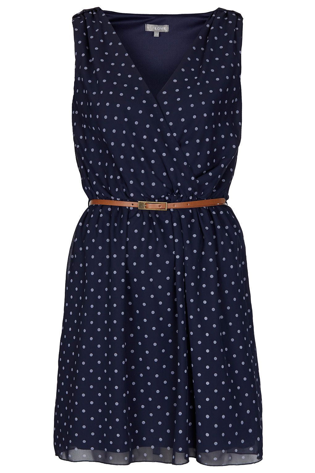 **Cross Bust Dress by Love - Dresses - Clothing - Topshop