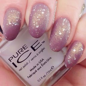 Lace and Lacquers: PURE ICE: New Year, New Hue Collection Part I [Dollface, Poppin Bottles, Frost Matte Top Coat, Flawless, & What's the Splatter]