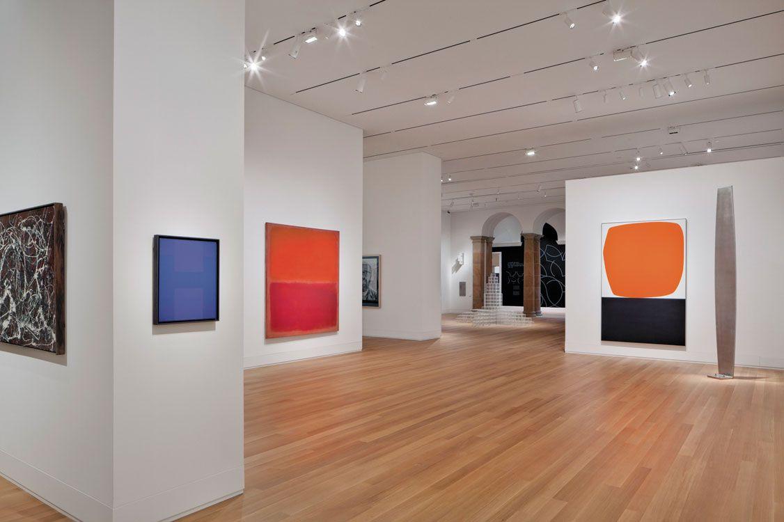 Image gallery modern art gallery for Modern art gallery online