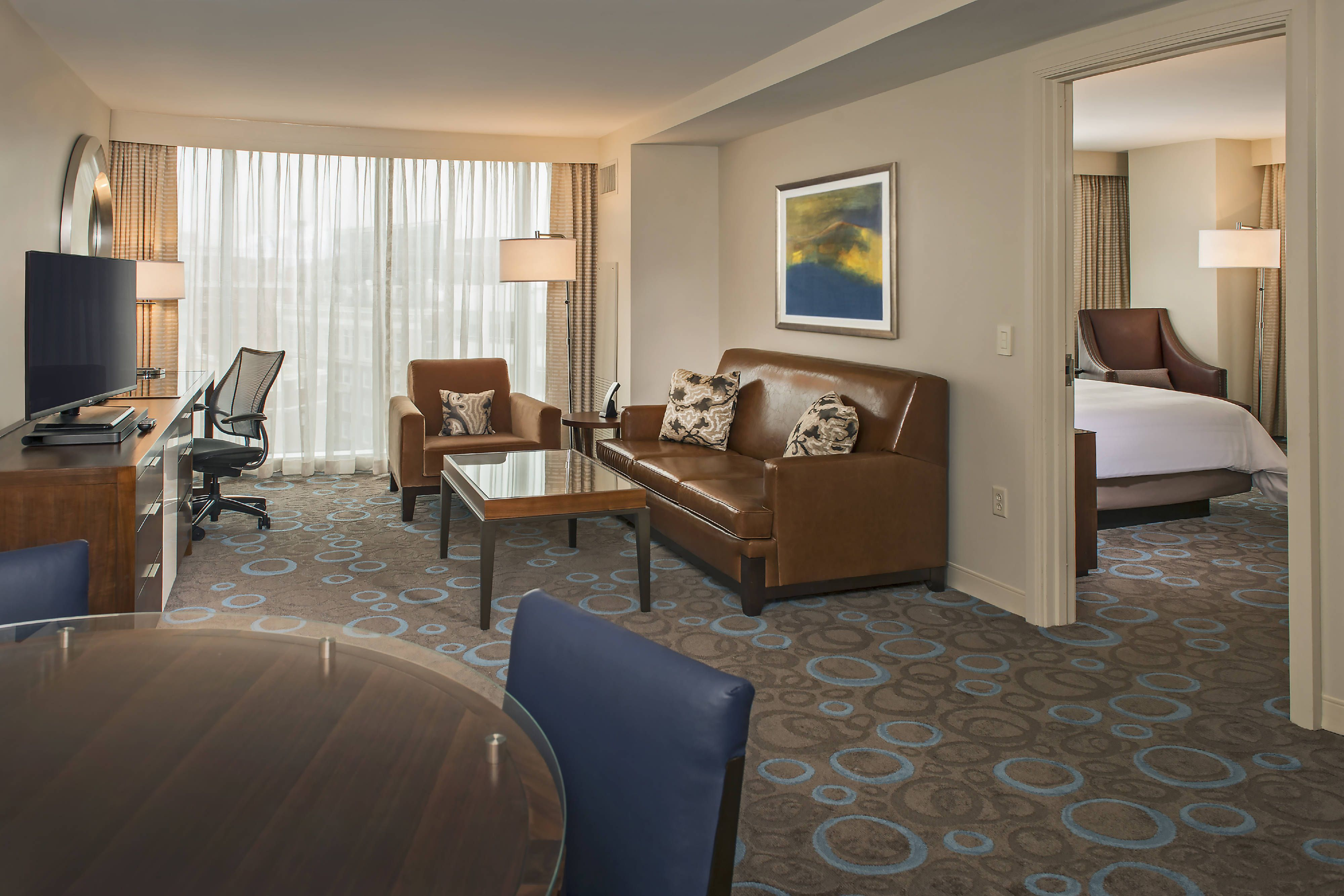 Marriott Marquis Washington, DC OneBedroom Suite