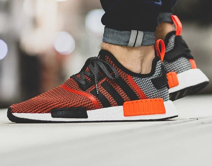 Adidas Originals S Nmd R1 Shoe In Lush Red Adidas Nmd R1