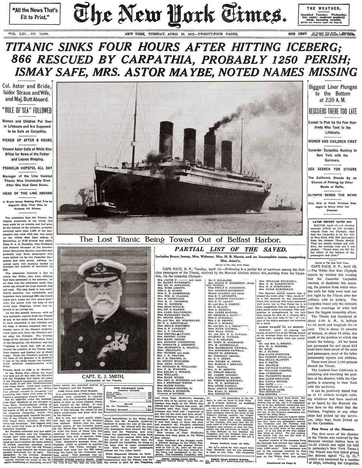 First class passenger's account of Titanic disaster finally published