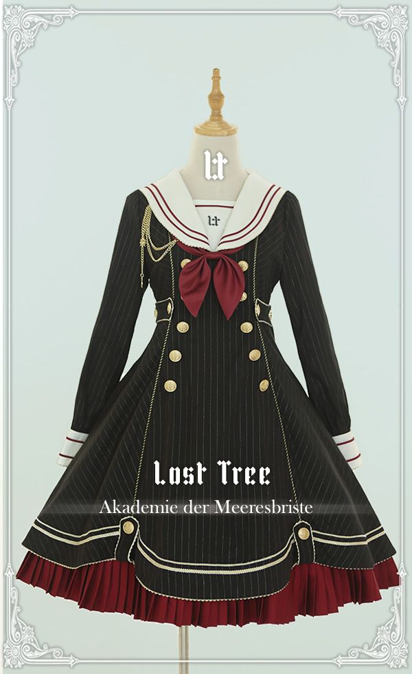 2019 年のlost Tree Akademie Der Meeresbriste Long Sleeves Lolita