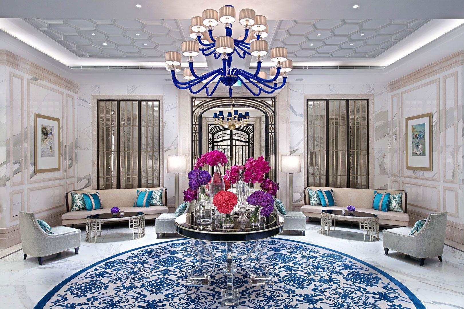 Ritz Carlton Galaxy Macau Hotel Interior Design Interior Design Magazine Interior Design Companies