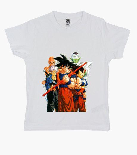 T-shirt Bambino, manica corta, bianca