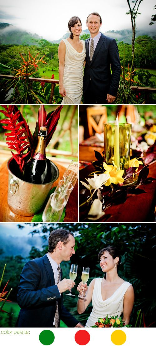 Costa Rica Rain Forest Destination Wedding