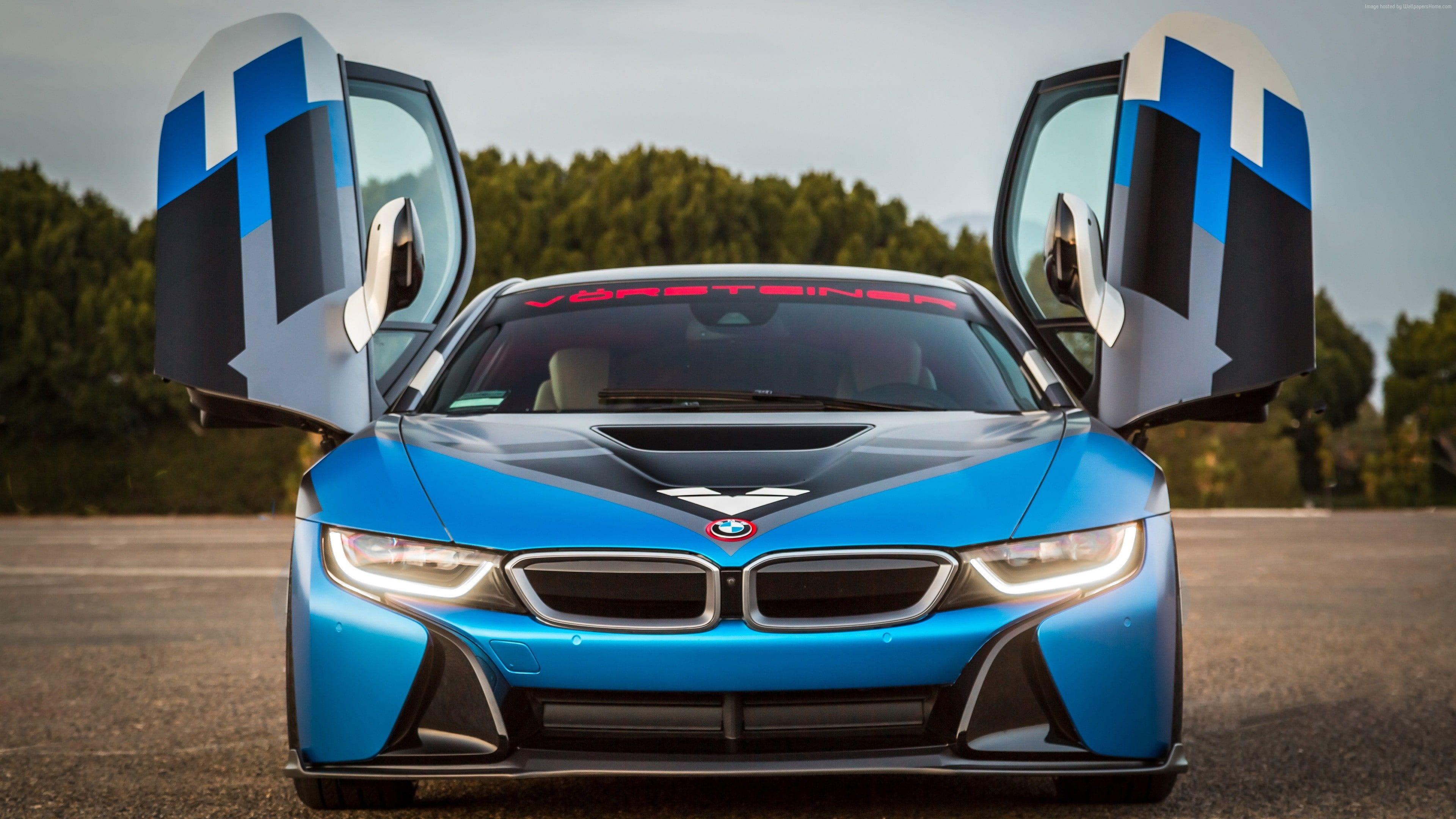 Vorsteiner Vr E Bmw I8 Blue Supercar Sport Cars 4k Wallpaper Hdwallpaper Desktop In 2021 Bmw I8 Bmw Bmw I8 Wallpapers