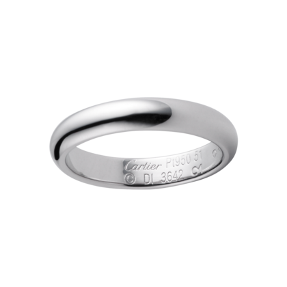 Wedding Band Platinum Ref B4036700 A Symbol Of Shared Happiness