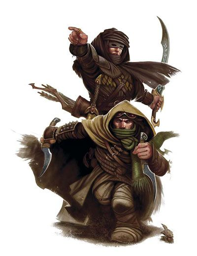 bandits fantasy characters pinterest rogues rpg and
