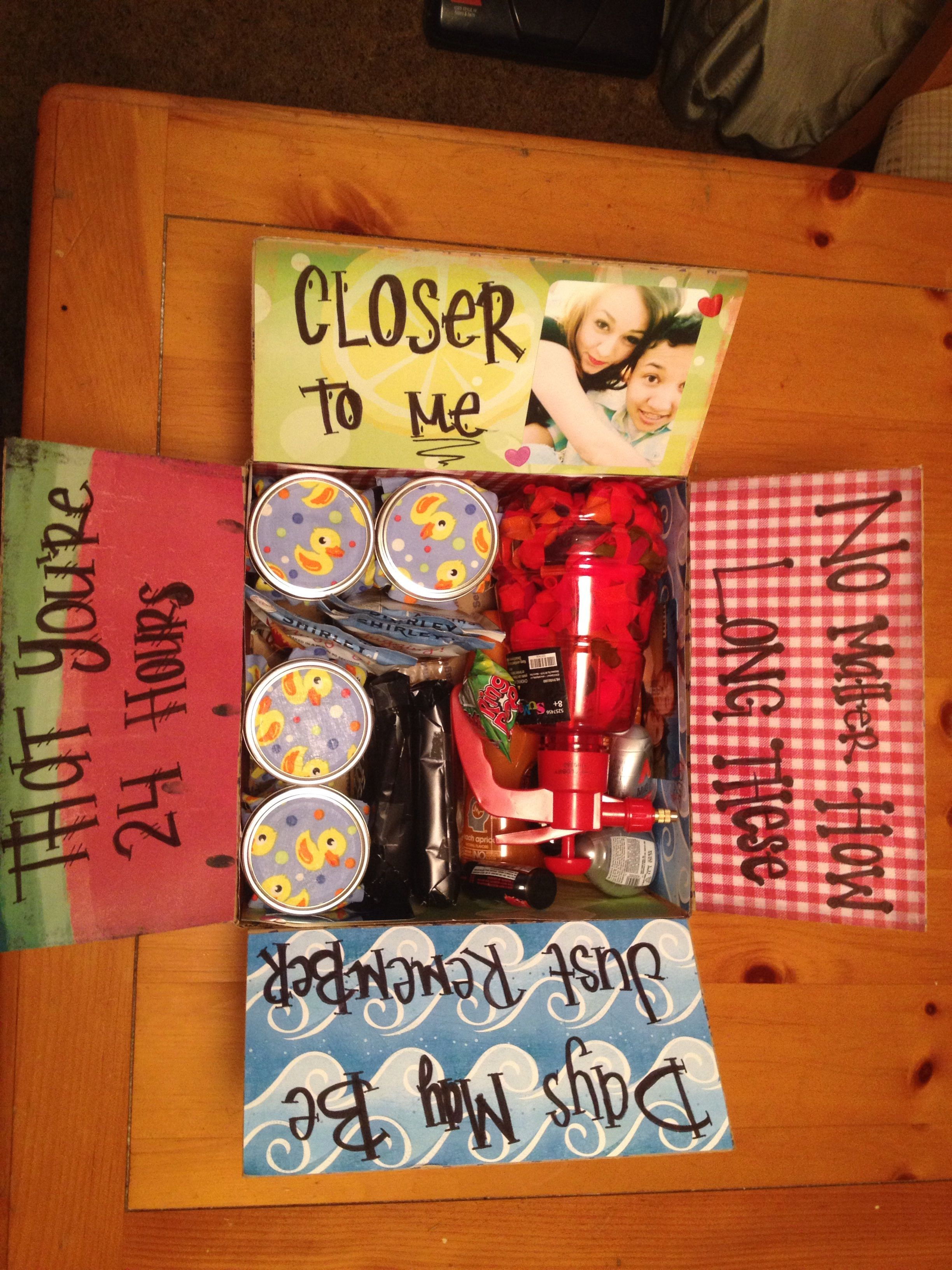 Send Some Love 30 Creative Care Package Ideas Amy