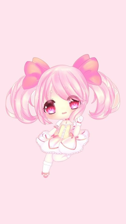 Anime Art Girl Background Beautiful Beauty Cartoon Chibi