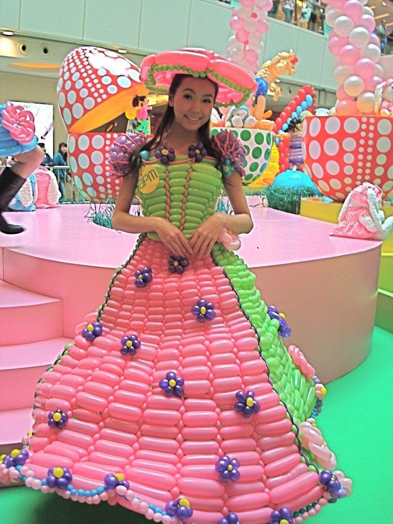 Airigami Dress Twist Balloon   Balloon Bling   Pinterest   Globo ...