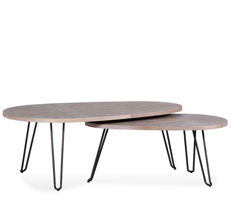 59085d30aa Naomi Nesting Coffee Tables in 2019   Tabor Living Room   Table ...