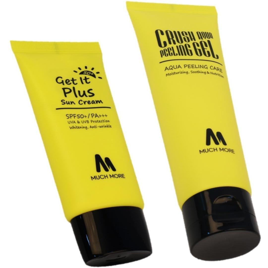 Crush Aqua Peeling Gel + Get It Plus Suncream