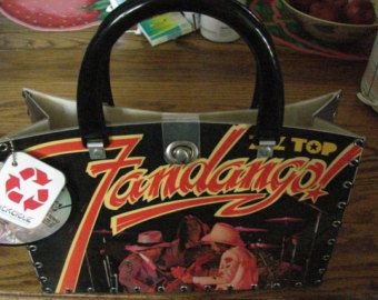 "ZZ Top ""Fandango"" Record Album Purse 60.00"