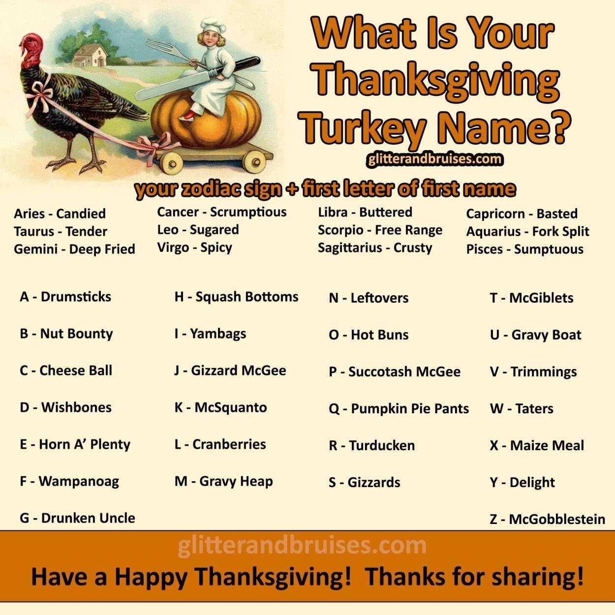 A Few of My Favorite Things - November