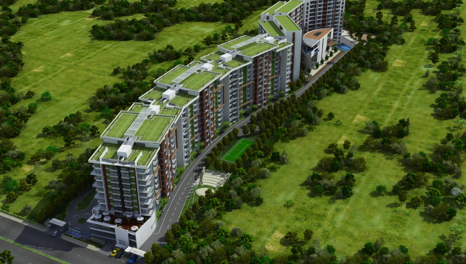Nitesh Columbus Square Apartments for sale, Bangalore