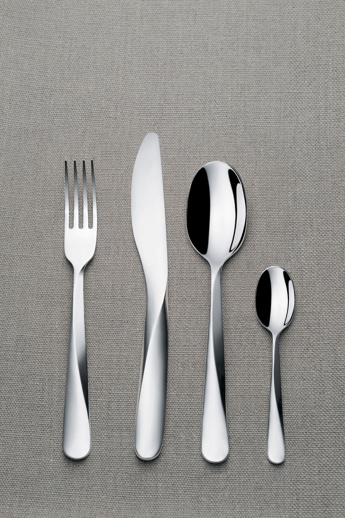 Chic New Cutlery Inspired By Architecture Cutlery Design Tableware Design Design Milk
