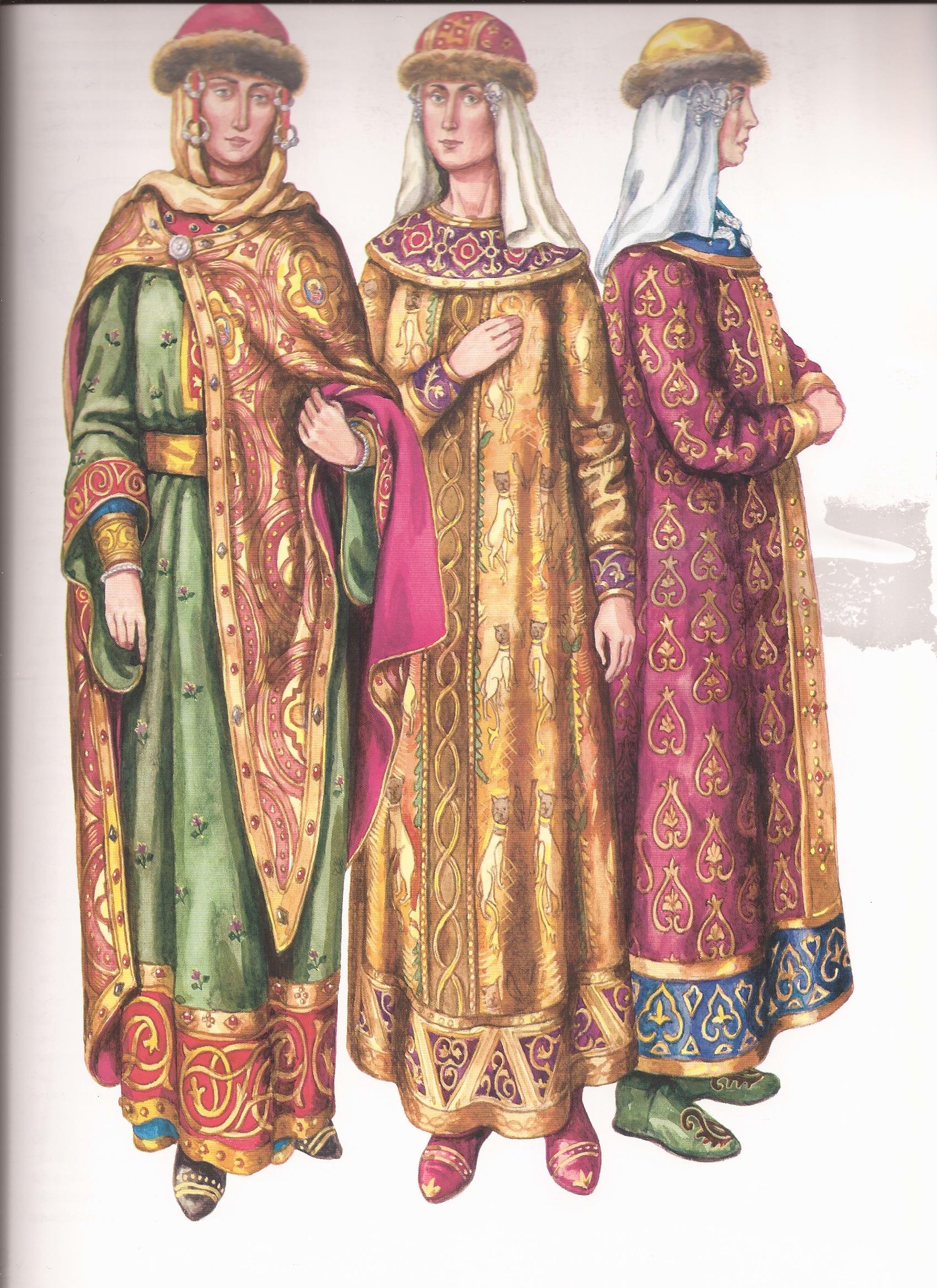 картинки княгини и князя одежда предназначен