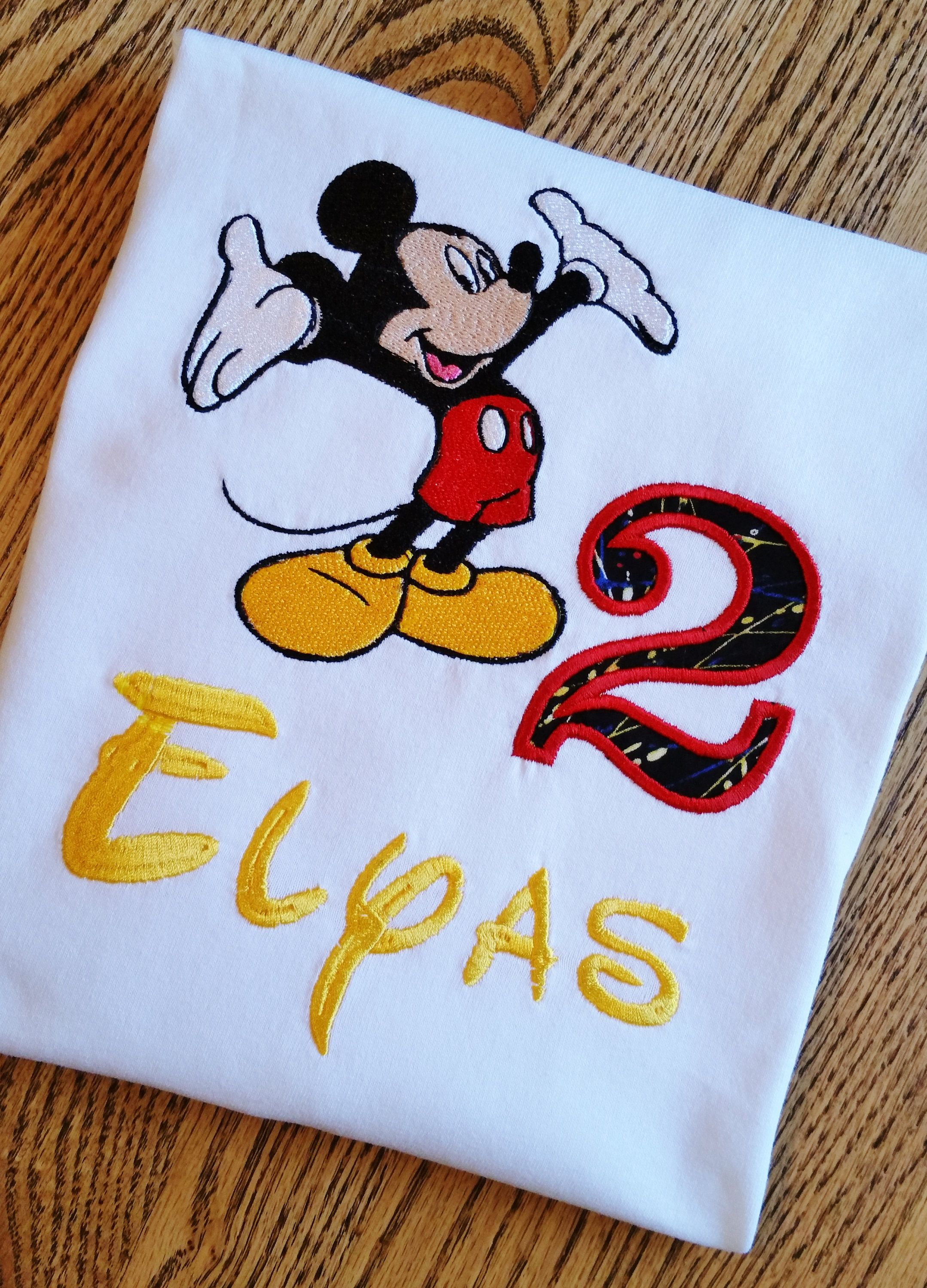 Mickey Mouse Or Minnie Mouse Birthday Shirt Disney Any