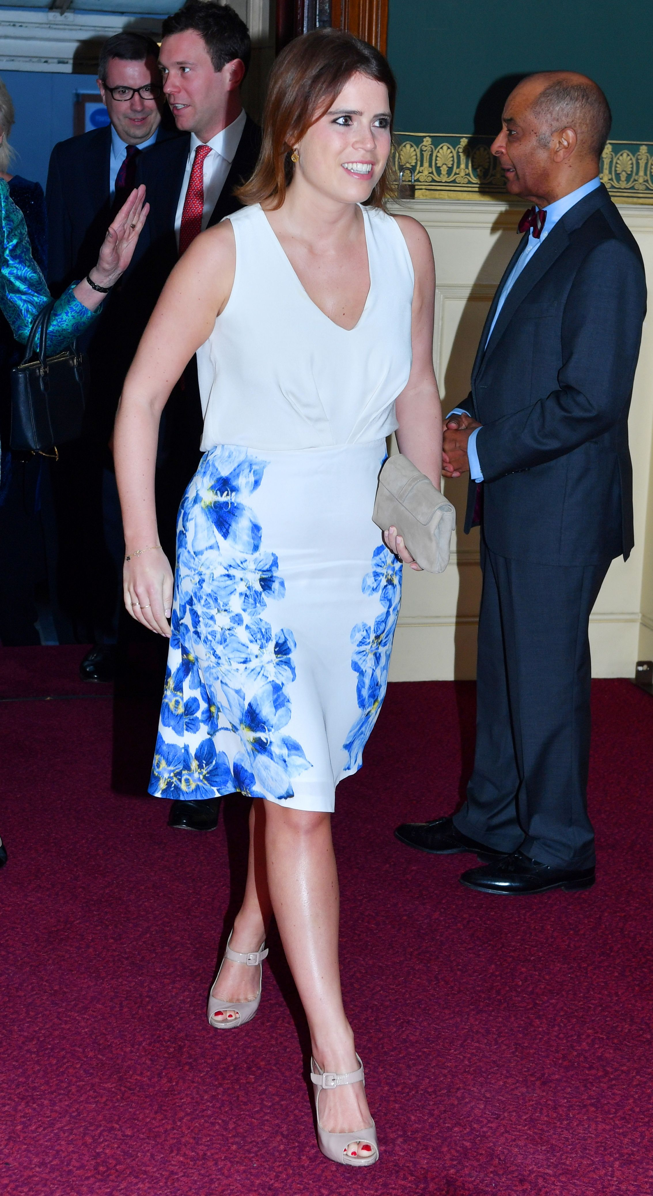 Princess Eugenie S Floral Dress Is So Far From Ordinary It S The