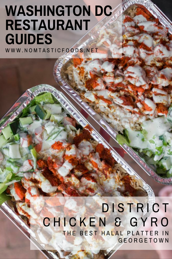 District Chicken And Gyro The Best Platter In Dc Nomtastic Foods Food Chicken Gyros Gyro