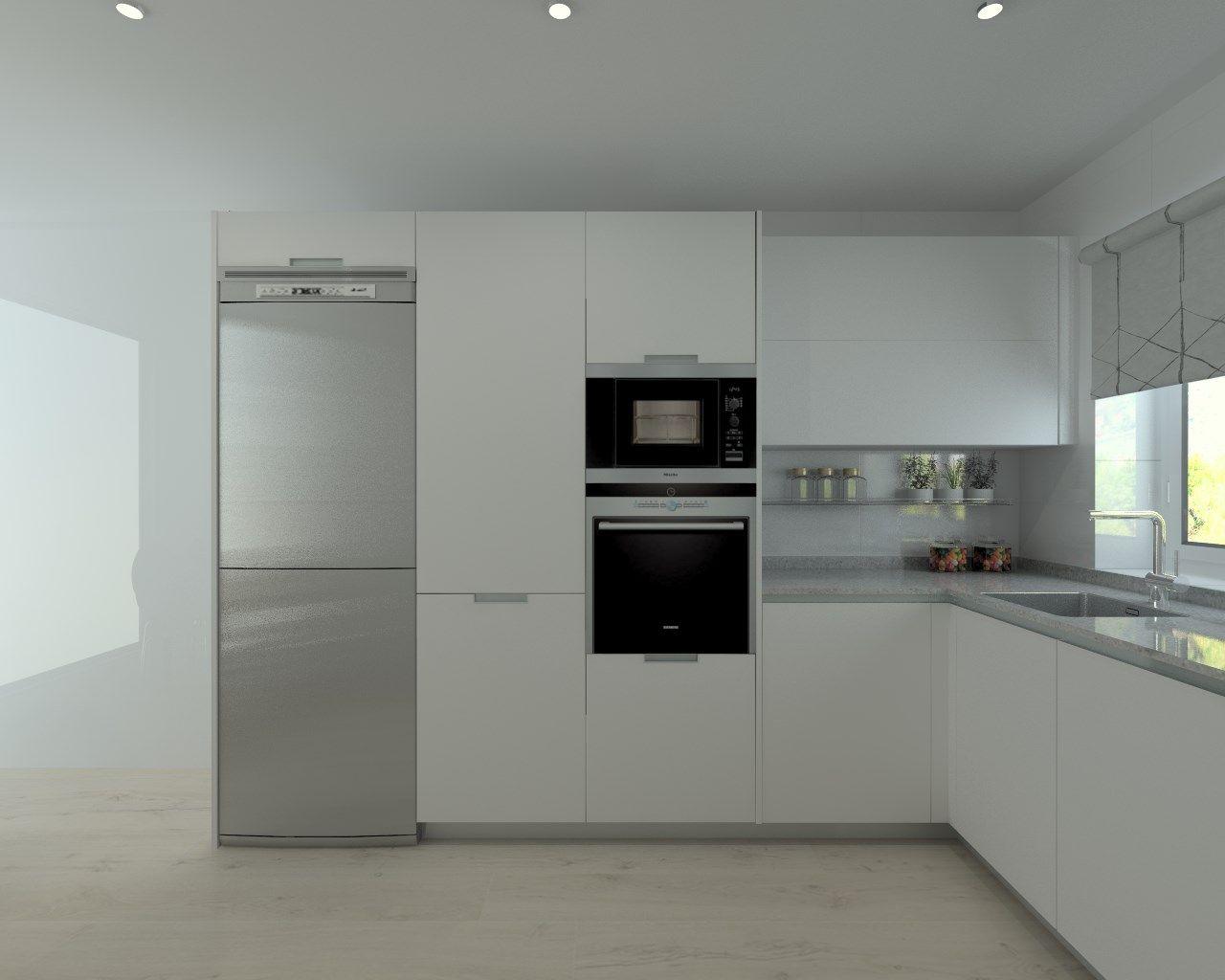 Proyectos de cocina en madrid kitchens high tech and for Proyectos de cocina easy