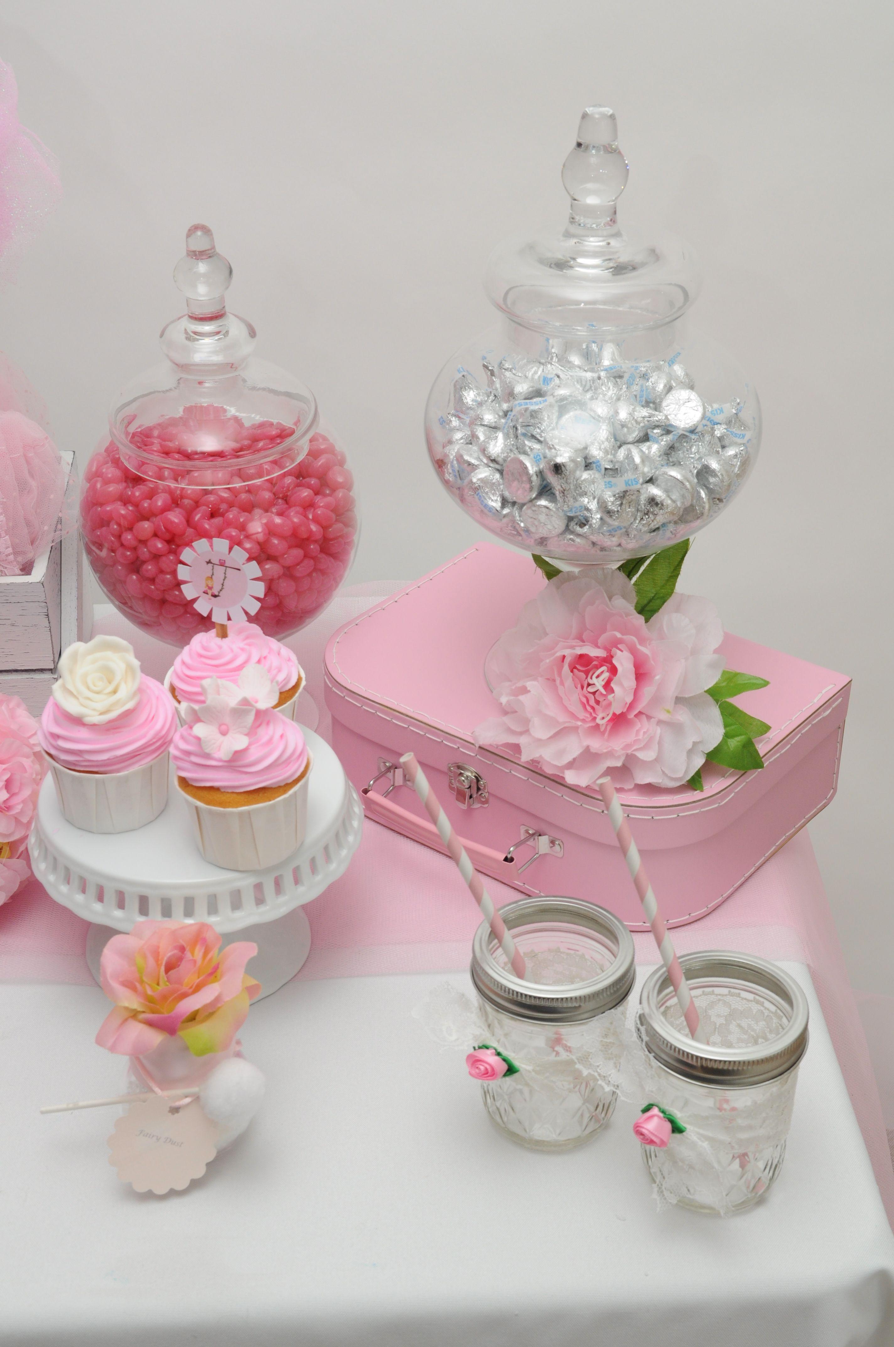 Lolly Jars and Fairy Cupcakes-awww so pretty!   Birthday Ideas for ...