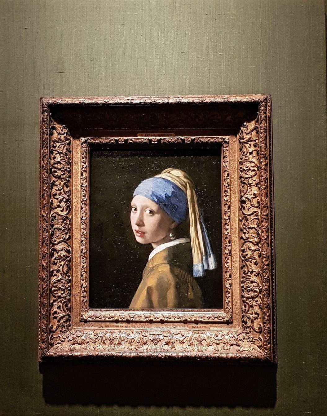 Johannes Vermeer Girl with a Pearl Earring Vermeer