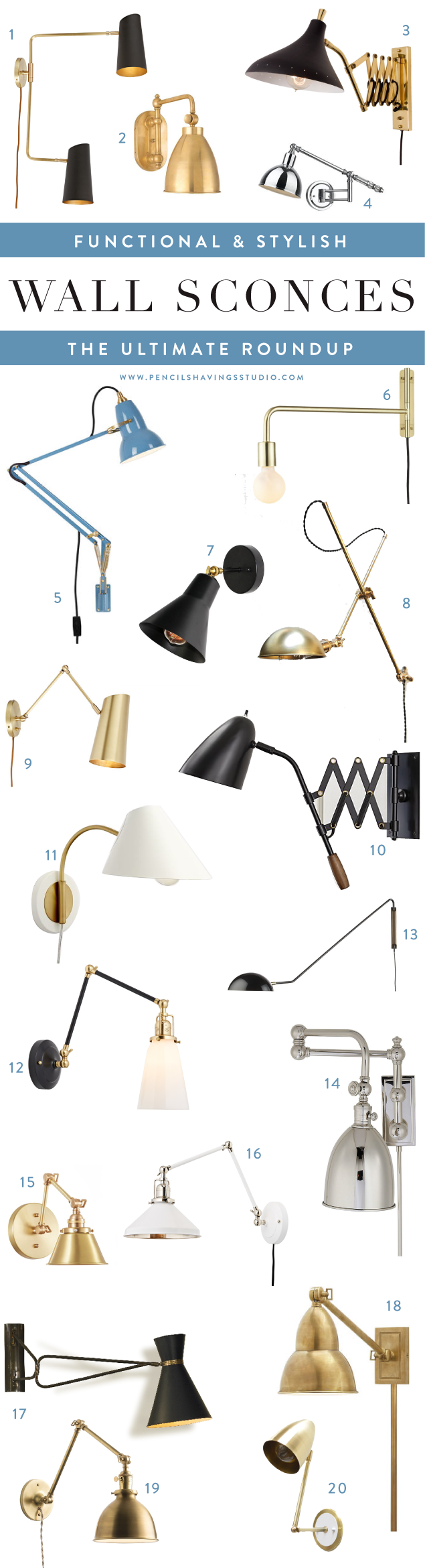 Chloe loft industrial 2 light oil rubbed bronze wall sconce free - 20 Stylish Swing Arm Sconces The Ultimate Roundup
