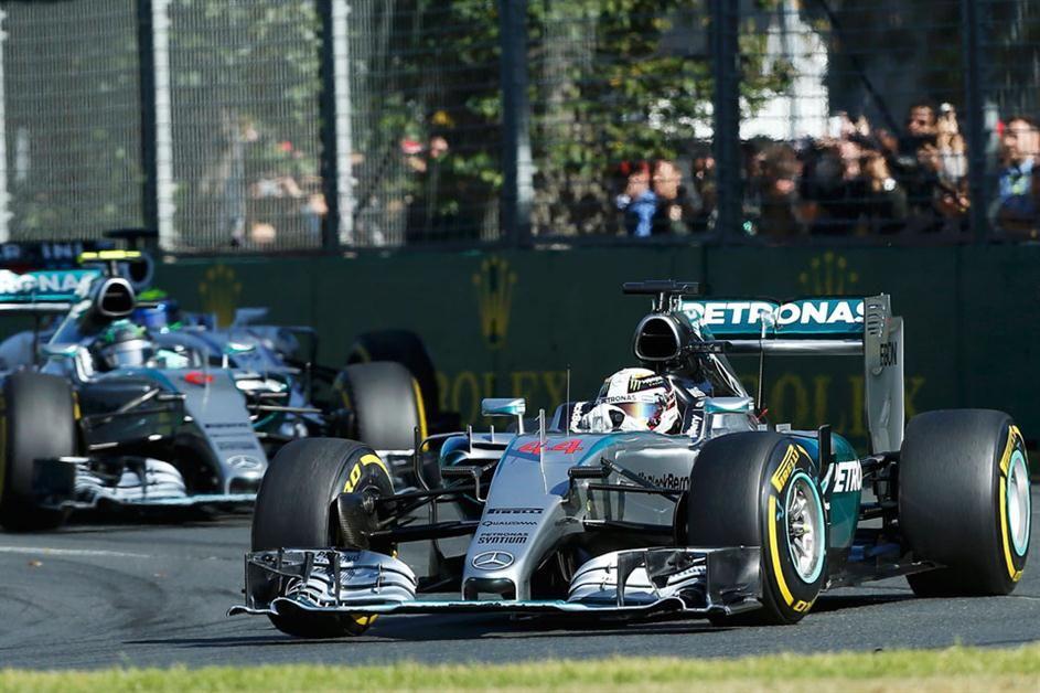2015 Melbourne AMG Mercedes W06 Lewis Hamilton